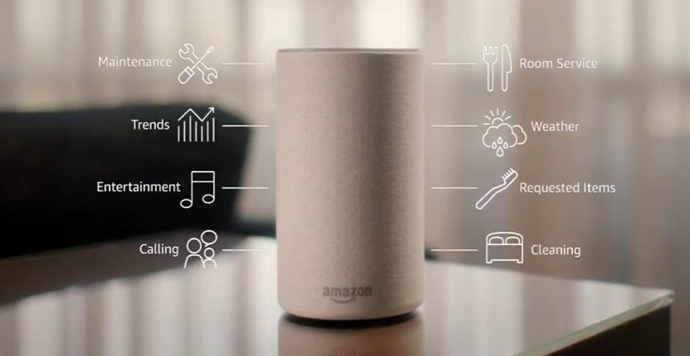 Alexa for hospitality - Amazon alexa speakers for hotels