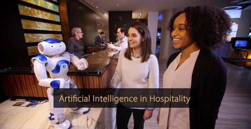 Artificial intelligence in hospitality industry - Guide revenue management and Guide hotel marketing
