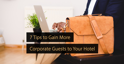 Corporate traveller - hotel marketing guide