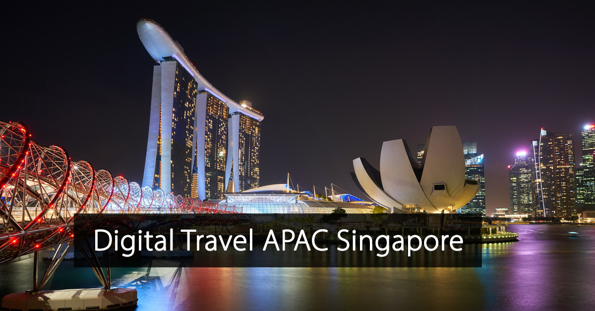 Digital Travel APAC - Singapore