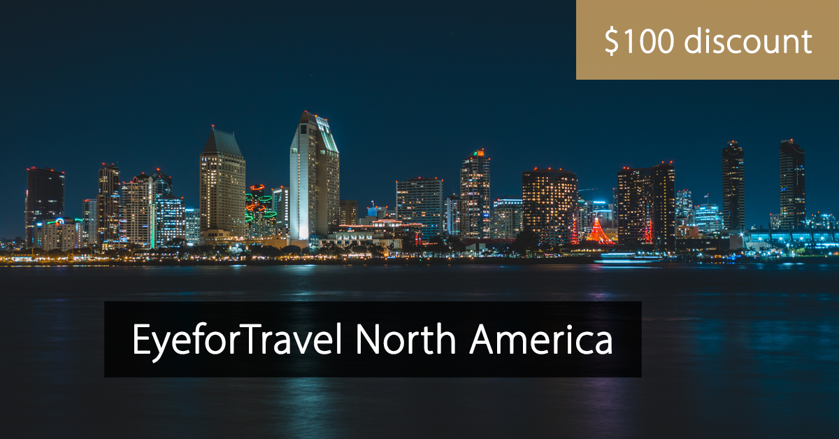 EyeforTravel North America - Eyefortravel San Diego - discount code