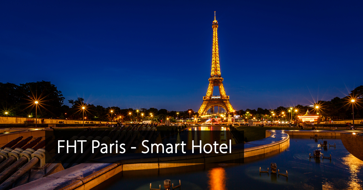 Food Hotel Tech Paris - France - Trade Show Digital Tech - FHT Paris