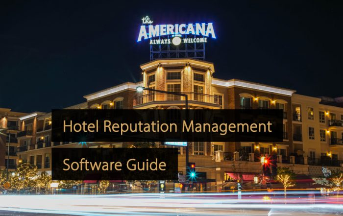Hotel Reputation Management Software - Guide