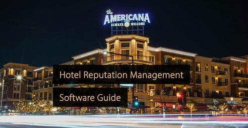 Hotel Reputation Management Software- hotel marketing manual