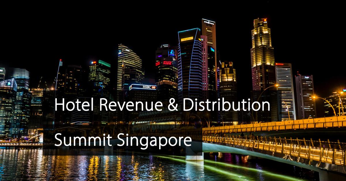 Hotel Revenue Distribution Summit Singapore
