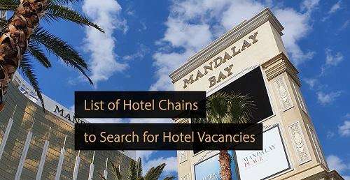 Hotel guide - Hotel vacancies