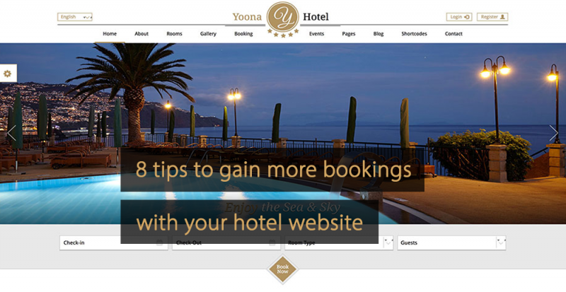 Hotel website tips to increase more bookings 1