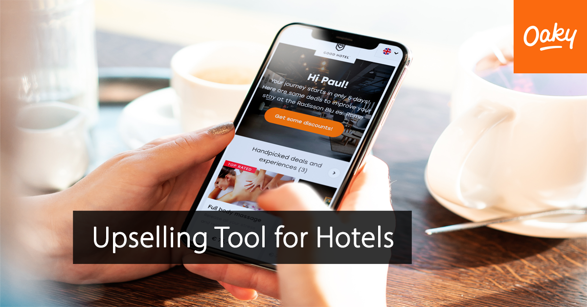 Oaky - Upsell tool for hotels