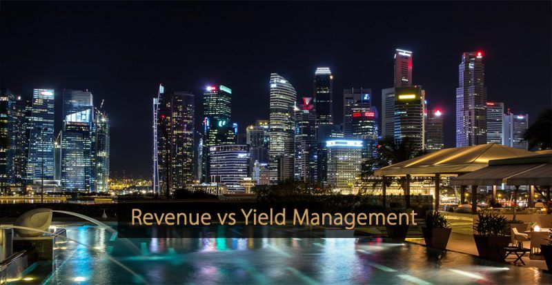 Revenue Management vs Yield Management - Yield Management versus Revenue Management