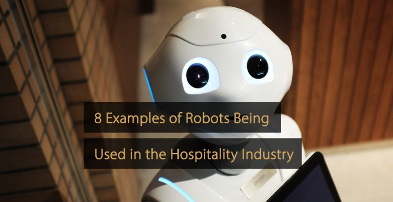 Robots hospitality industry - Examples - Robots hotel industry