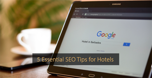 SEO tips for hotels - Guide revenue management and Guide hotel marketing
