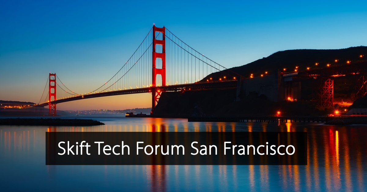 Skift Tech Forum San Francisco
