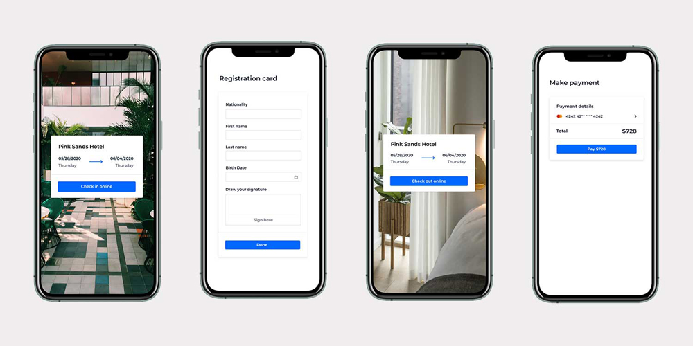 Smart Guest Journey Hotels - Implement remote check-in check-out