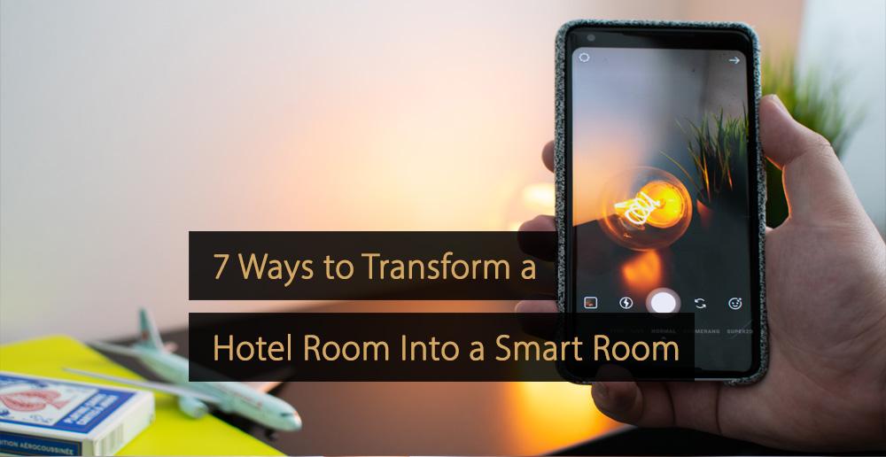 Smart room - smart hotel room