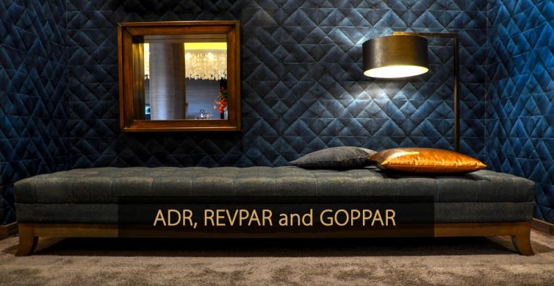 What is ADR, REVPAR and GOPPAR - Hotel KPI's