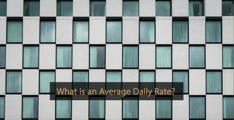 What is ADR - What is an average daily rate - What does ADR stand for