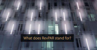 What is revpar - what does revpar stand for - revenue per available room
