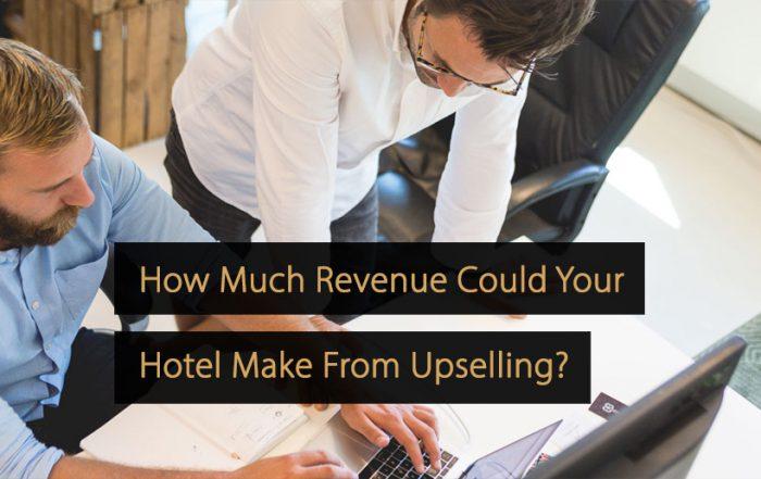 revenue upselling hotel upsell